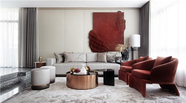 绵阳装修公司:现代装修风格家居实景案例分享,共生形态 |,生活的剪辑