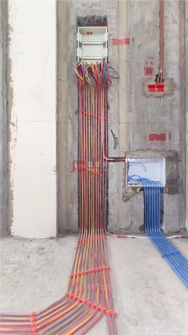 绵阳装修工地现场刚采集的水电施工照——绵阳最好的施工工艺