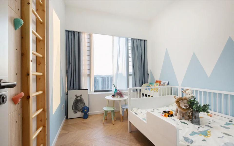 89㎡小户型三居:中西厨、衣帽间、收纳...还有超棒儿童房!——绵阳装修