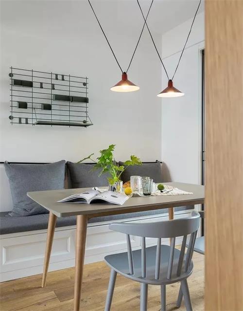 绵阳小户型装修设计案例:餐桌这样设计!大大节约空间